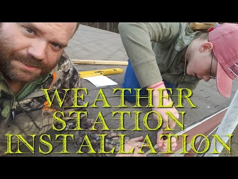 ☉🌥☔Replacing an AcuRite Weather Station with a Davis Vantage VUE Weather Station