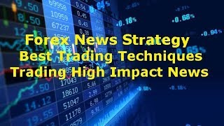 Forex Trading news Strategy Detect Best Entry & Exits Analysis