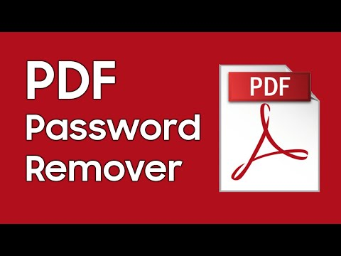 How To Remove Restrictions(Copy/Edit/Print) From Secured PDF Files? - PDF Password Remover