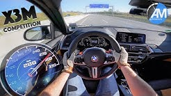 BMW X3M Competition - 0-290 km/h LAUNCH CONTROL🏁