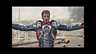 Tony Stark Colocándose la Armadura Mark 5 del Portafolio | Español Latino (HD-60FPS) | Iron Man 2