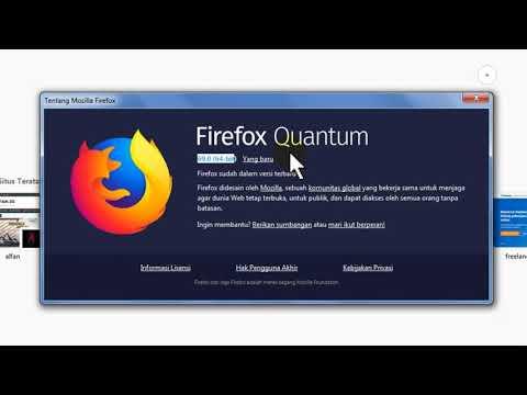 Cara Mengupdate Mozilla Firefox Ke Versi Terbaru