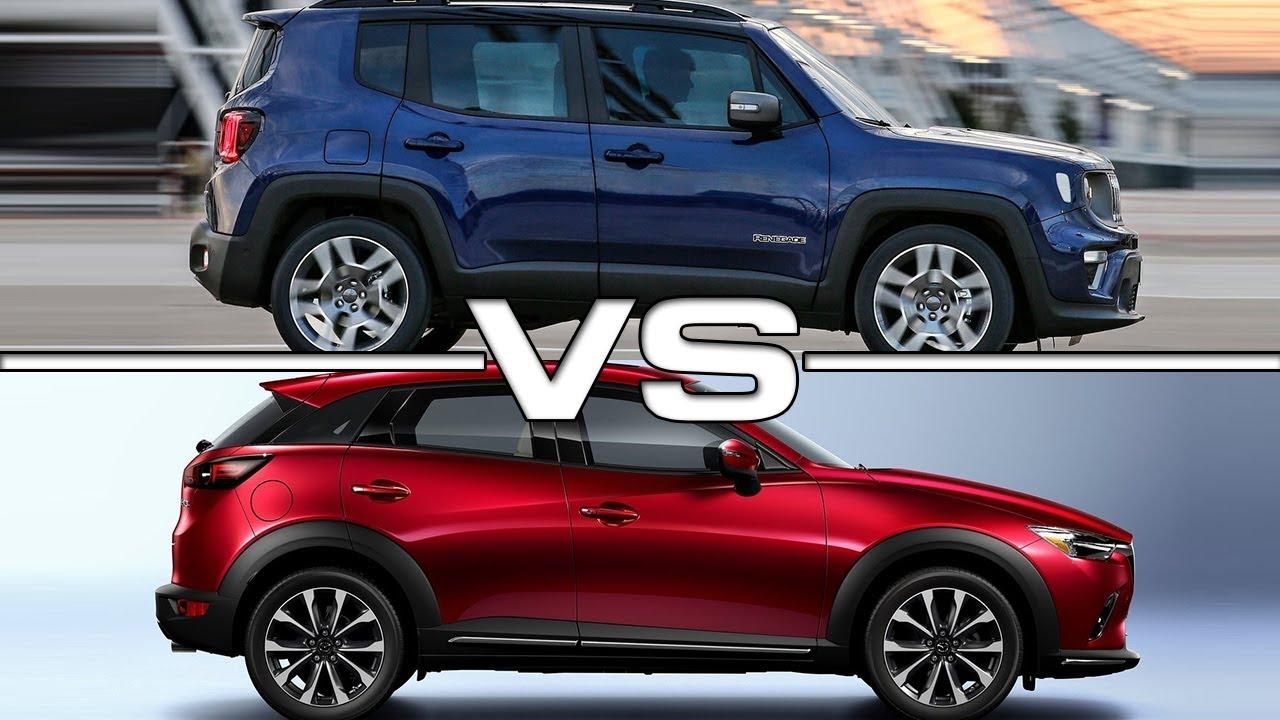 Jeep renegade vs mazda cx 3