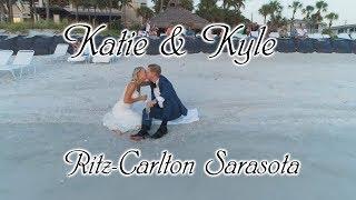 Wedding at Ritz-Carlton Beach Club Sarasota
