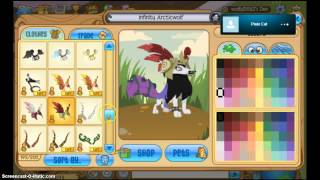 Animal jam: Trading black long away