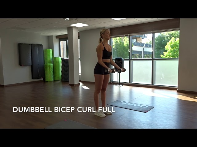 Dumbbell Bicep Curl Full