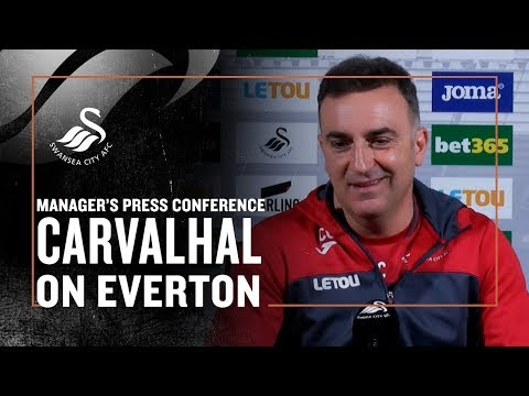 Press Conference LIVE: Carlos Carvalhal ahead of Everton.