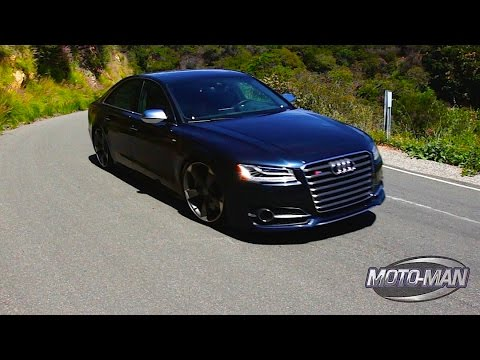 2015 Audi S8 FIRST DRIVE REVIEW