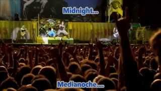 Iron Maiden - 2 Minutes To Midnight - En Vivo (Subtitulos Español Lyrics)