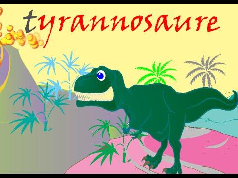 """""""Le Tyrannosaure""""(Roi des Lézards Tyrans) - Le Monde des Dinosaures"""