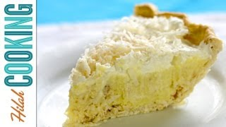 Coconut Cream Pie Recipe - How To Make Coconut Cream Pie