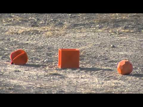 Impact Seal Ground Bouncing Targets - YouTube