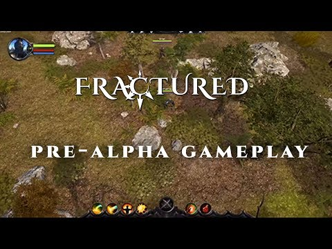 Fractured MMO | Pre-Alpha Gameplay | Hike & Slash