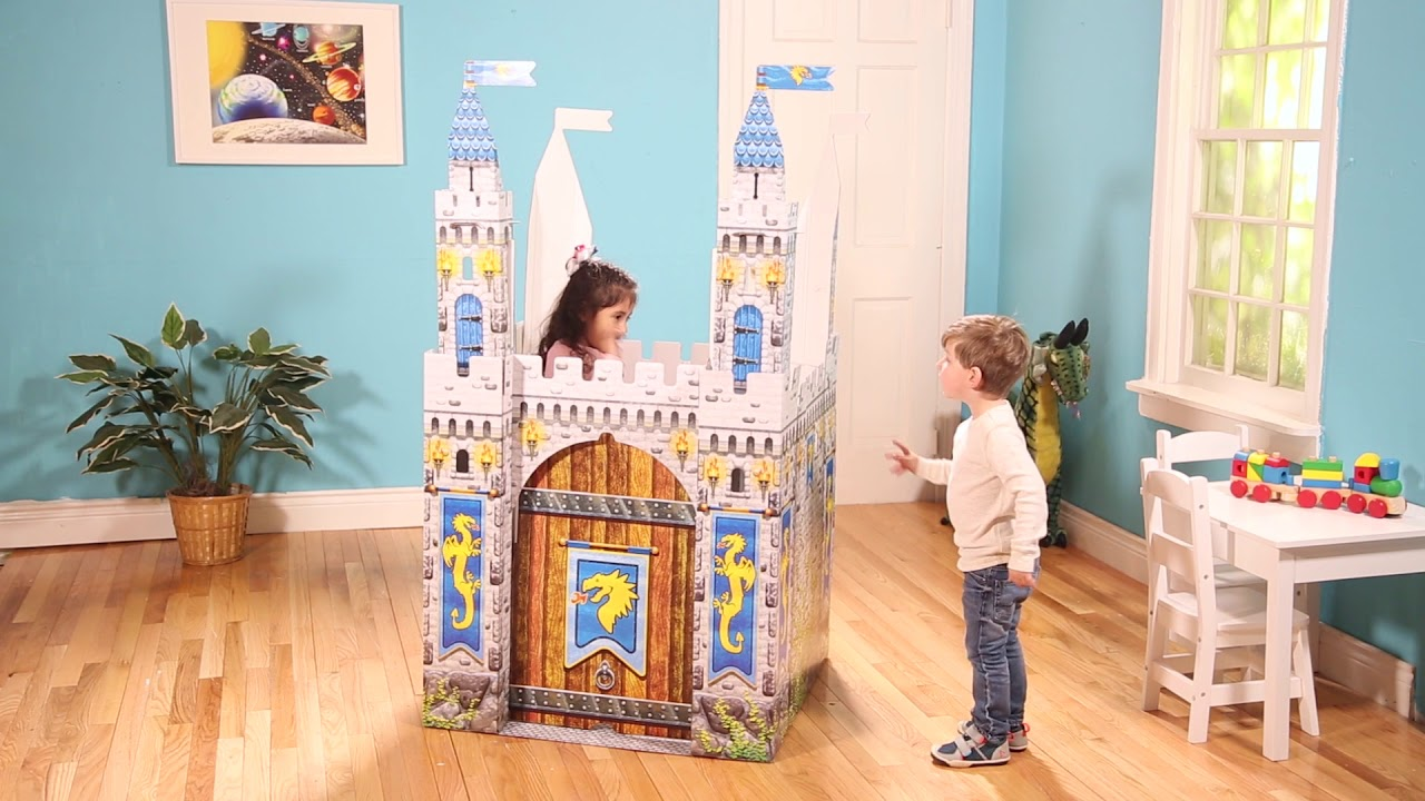 Medieval Castle Indoor Playhouse