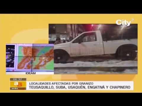 Estas fueron las causas de la granizada que azotó a Bogotá | CityTv