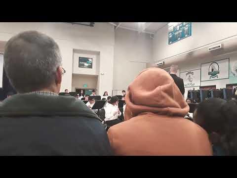 Walter Stiern Middle School Band 2019