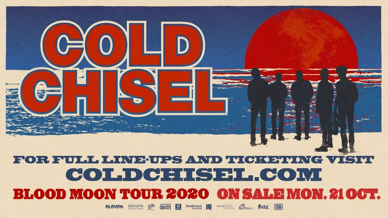 Cold Chisel - Blood Moon Tour 2020 Trailer - YouTube
