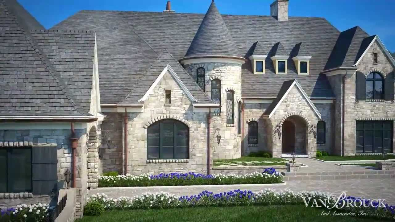 beautiful michigan luxury home builders #4: French Country Lake Home - Bloomfield Hills, Michigan - YouTube