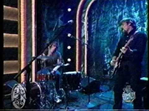 The Black Keys  Network Television Debut  Late Night With Conan 2003