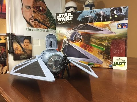 Star Wars Rogue One Hasbro 3.75 Imperial Tie Striker With Tie Fighter Pilot Action Figure Review