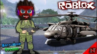 ROBLOX Indonesia #52 Battleship Tycoon | Helicopter aboard a battleship