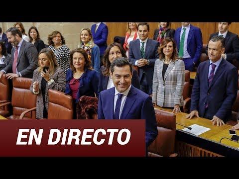EN DIRECTO, Sesión de Investidura  de Juanma Moreno al Parlamento de Andalucía II