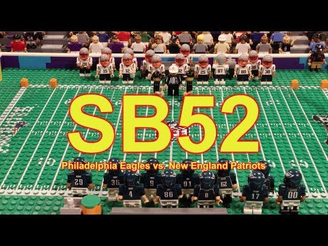 Super Bowl 52 in StopMotion Action! - YouTube