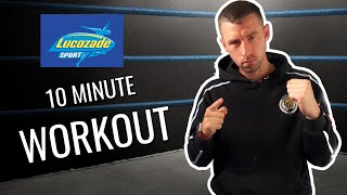 10 Minute Boxing Fitness Workout | Home Boxing Training