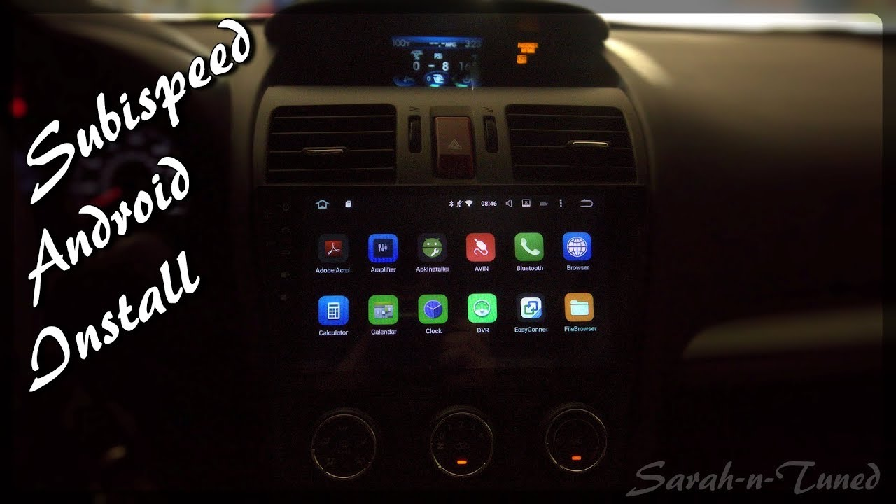 Subaru Forester Wrx Sti Android Headunit Install Youtube