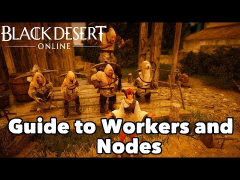Black Desert Online: A Guide to Workers and Nodes!