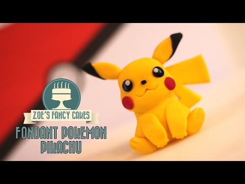 Pokemon cake: how to make a Pikachu model ZOES FANCY CAKES & CAKE STYLE COLLABORATION