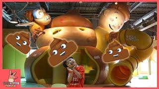 대형 탈출 달리기 놀이! 뽀로로 장난감 속으로 빠지다 ♡ 딸기가좋아 키즈카페 올림픽공원 #4 Kid Playground | 말이야와아이들 MariAndKids