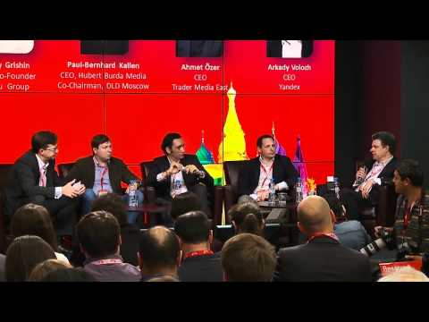 DLD Moscow 2012 - Digital and Media Strategies ( Grishin, Kallen, Özer, Volozh)