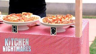 Italian Restaurant's Pizza Gets Beaten By Frozen Pizza   Kitchen Nightmares
