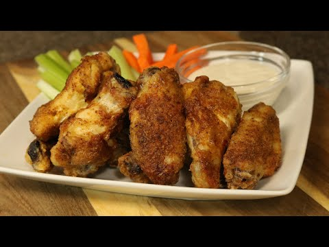 Air Fryer Chicken Wings - Nuwave Brio 10 Quart