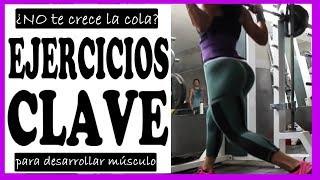 rutina de gym para gluteos y piernas