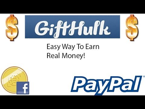 GiftHulk- Free Online Money! Little To No work to earn Cash!