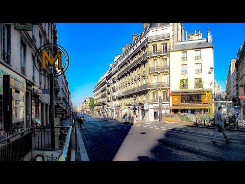 A Walk Up Rue LaFayette, Paris