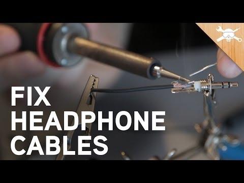 How to Fix Broken Headphone Cables