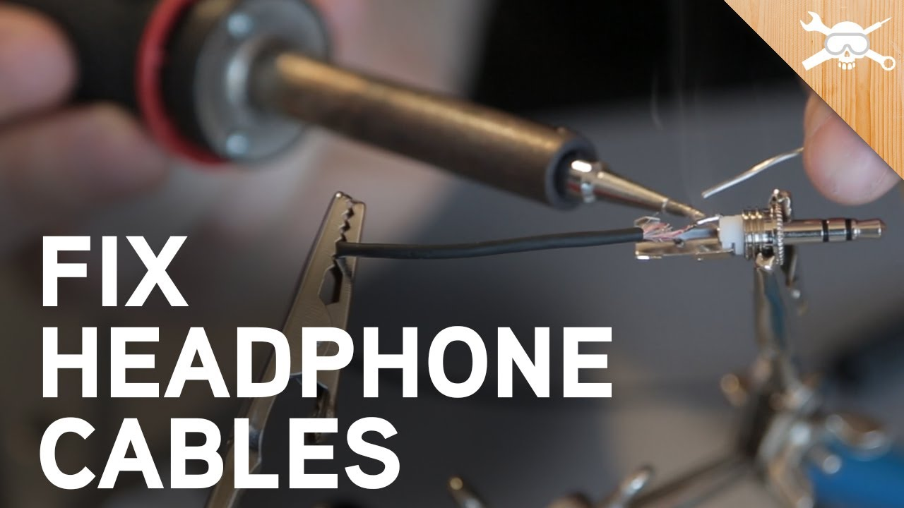 Headphone Wiring Diagram Tree Probability Calculator How To Fix Broken Cables - Youtube