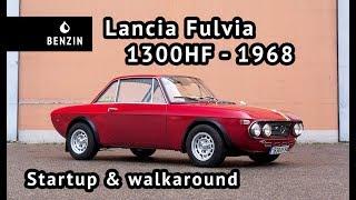 Lancia Fulvia 1300hf 1968 - Startup & walkaround