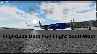 ROBLOX - Flightline - Open Beta Full Flight SouthWest