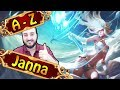 A-Z JANNA SUPPORT, seit 2 Jahren schon zu OP| League of Legends