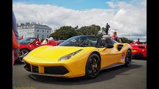Ferrari 488 Spyder Drive By at Ferrari 70th!