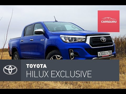 Toyota Hilux. Пикап для Орегона.