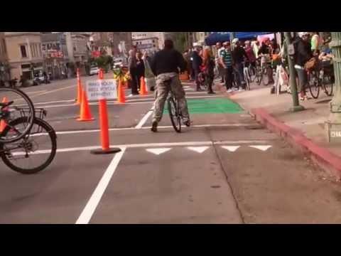 Telegraph Protected Bikeway Demo
