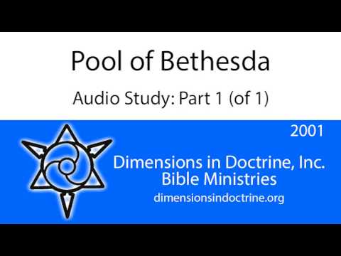 Pool of Bethesda - Part 1 (of 1)