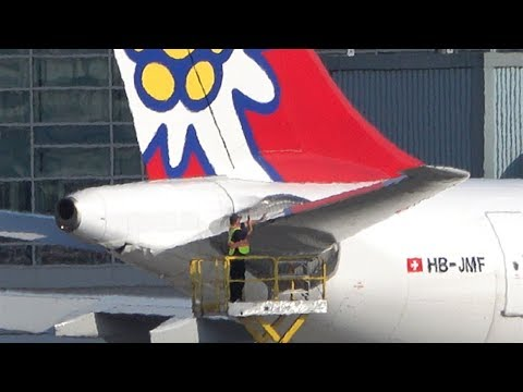 DAMAGED Edelweiss A340 & 2 Lufthansa Heavies | Plane Spotting at Vancouver YVR
