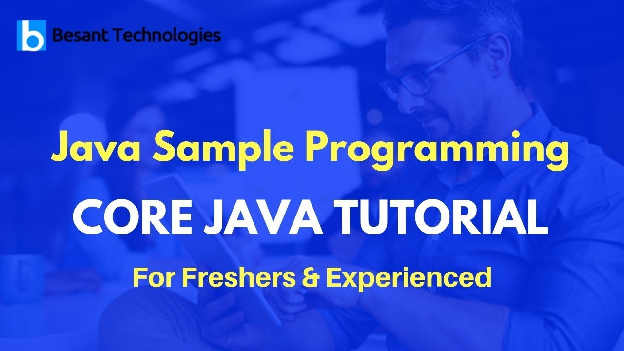 Free e-learning portal for students and professionals core java.