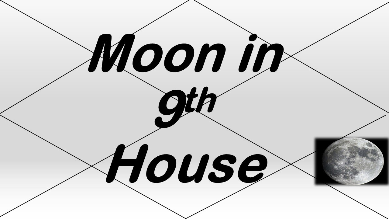 Moon in 9th House (Vedic Astrology)